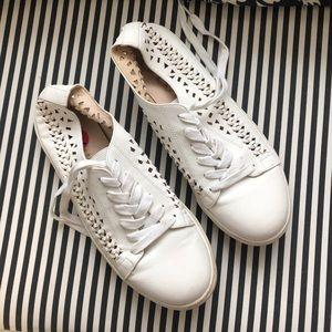 Sam Edelman White Tennis Shoes size 10
